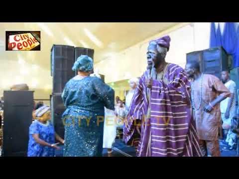 Download FADEYI & ORISA BUNMI Fantastic Display On Stage @ JIMOH ALIU AWORO 85th Birthday