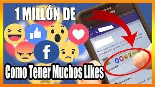 Aplicación Para Tener Muchos Likes en Facebook (Android) 1 MILLÓN DE LIKES 100% REAL