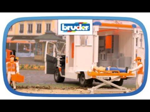 MB Sprinter Ambulanz Mit Fahrer – 02536 – Bruder Spielwaren