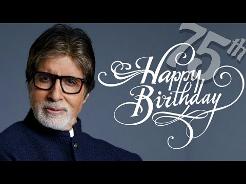 Amitabh Bachchan's Interview for 75th Birthday Special with Vickey Lalwani | SpotboyE