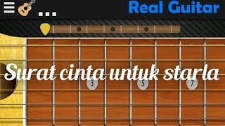 Real Guitar (virgoun_surat cinta untuk starla)
