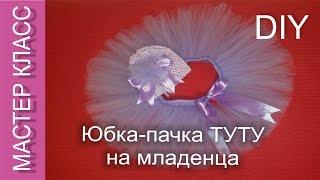Юбка-пачка на малышку до года - МК /  Tutu skirt for one-year baby-girl - DIY (subtitles)(МАСТЕР КЛАСС. Видео-ролик о том, как сделать юбку-пачку Туту для совсем маленькой Принцессы. Идеальный вариа..., 2015-12-18T13:24:49.000Z)