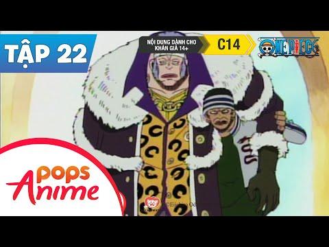 One Piece Tập 22 - Băng Hải Tặc Lớn Nhất! Thuyền Trưởng Don Krieg - Đảo Hải Tặc