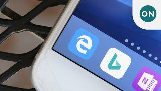 Hands on with Microsoft Edge for iOS