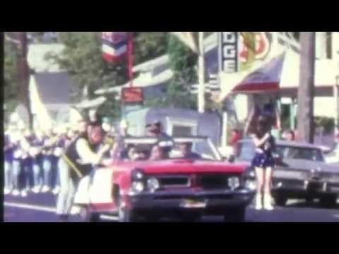 EGHS Homecoming Parades in Oct '66 and '67