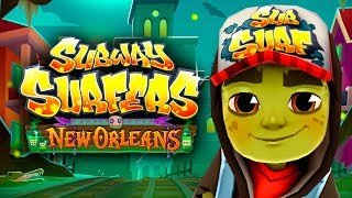 SUBWAY SURFERS GAMEPLAY HD 🎃 NEW ORLEANS - HALOWEEN 2018 ✔ ZOMBIE JAKE AND 27 MYSTERY BOXES OPENING