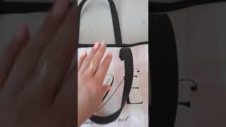 Обзор пляжной сумки Victoria s Secret love