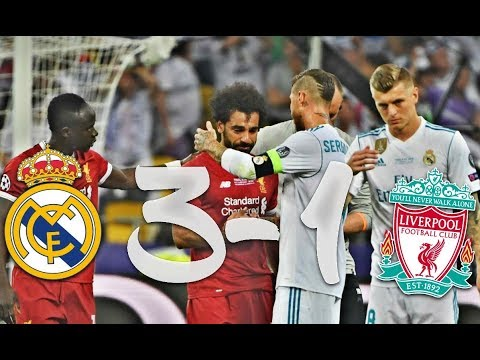 RÉSUMÉ RÉAL MADRID VS LIVERPOOL 3-1   RAMOS FRACASSE SALAH !