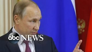 Putin Accuses Obama Administration of Spreading False Rumors to Undermine Trump