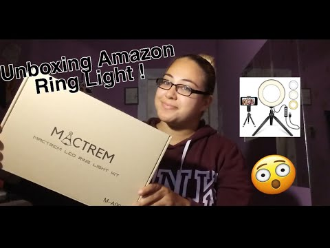 "Unboxing Amazon Ring Light 6"" inch ! *Review 😲"