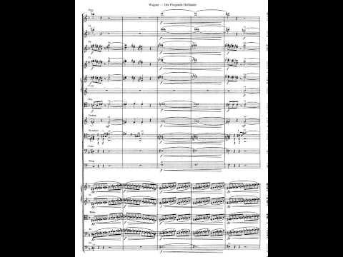 Wagner. Der Fliegende Holländer. (El holandés errante) Ouverture