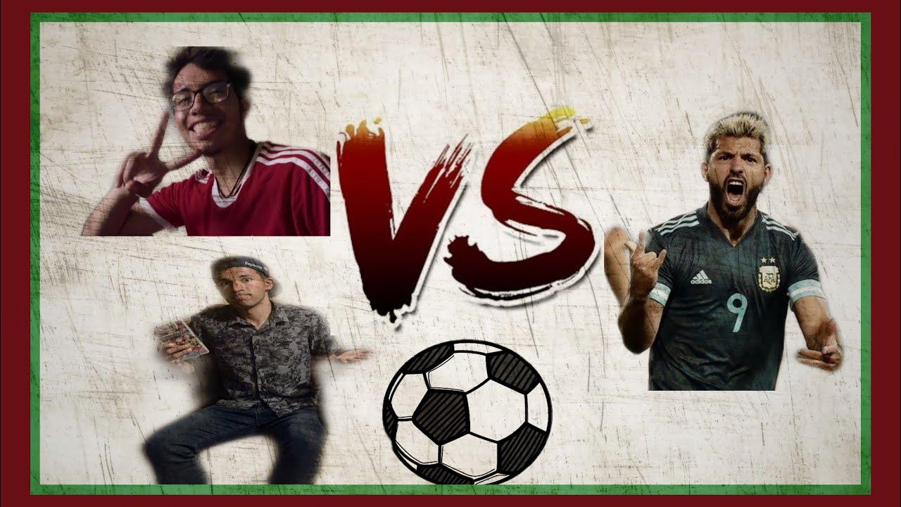 T3E vs Kun Agüero Fútbol en la Vida real  ⚽️