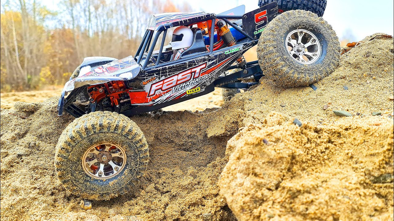 WlToys MUD Racing and OFF Road Extreme 4x4 RC Car