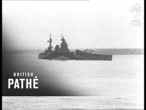 Bombardment Of Alderney (1944)