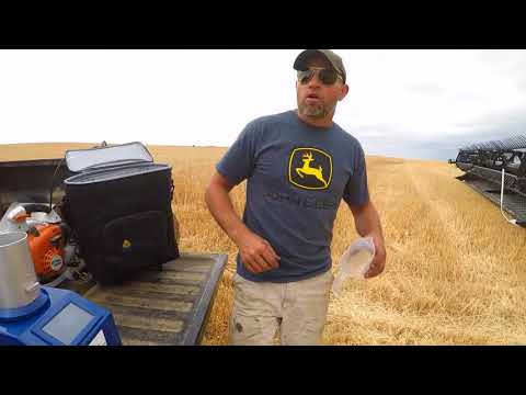 Review of the Prairie Grain Analyzer