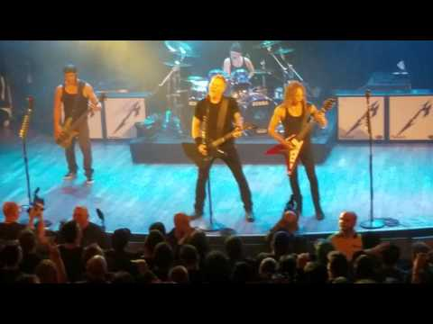 Metallica: Whiskey in the Jar   at the Toronto Opera House, 11292016