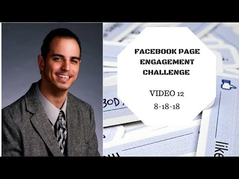 Facebook Page Engagement Challenge Vid 12 - Free MLM Traffic Results