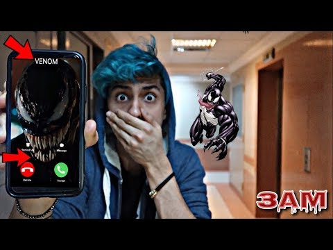 CALLING VENOM AT 3AM!! *OMG HE CAME TO MY HOUSE*