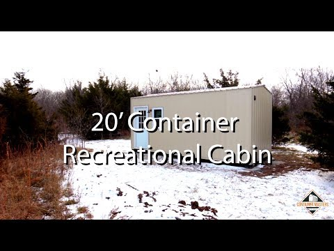 Shipping Container Cabin - Container Masters