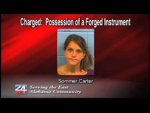 Charged:  Possession of a Forged Instrument