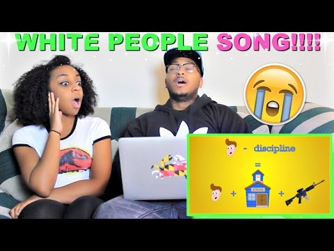 ZFLONetwork The White People Song Reaction!!!