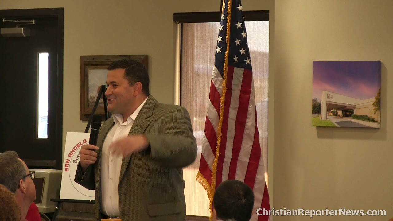 2019-08-05 Nick Adams @ San Angelo Republican Women