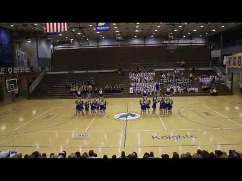 Castle North Middle School @ Warrick County Cheer and Dance exhibition