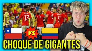 😱🇨🇱 CHILE vs COLOMBIA 🇨🇴 ELIMINATORIAS SUDAMERICANAS QATAR 2022 🏆 PREDICCION & ANALISIS
