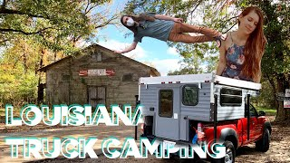 Louisiana Camper Life - Chİcot State Park // Living Full-Time On The Road