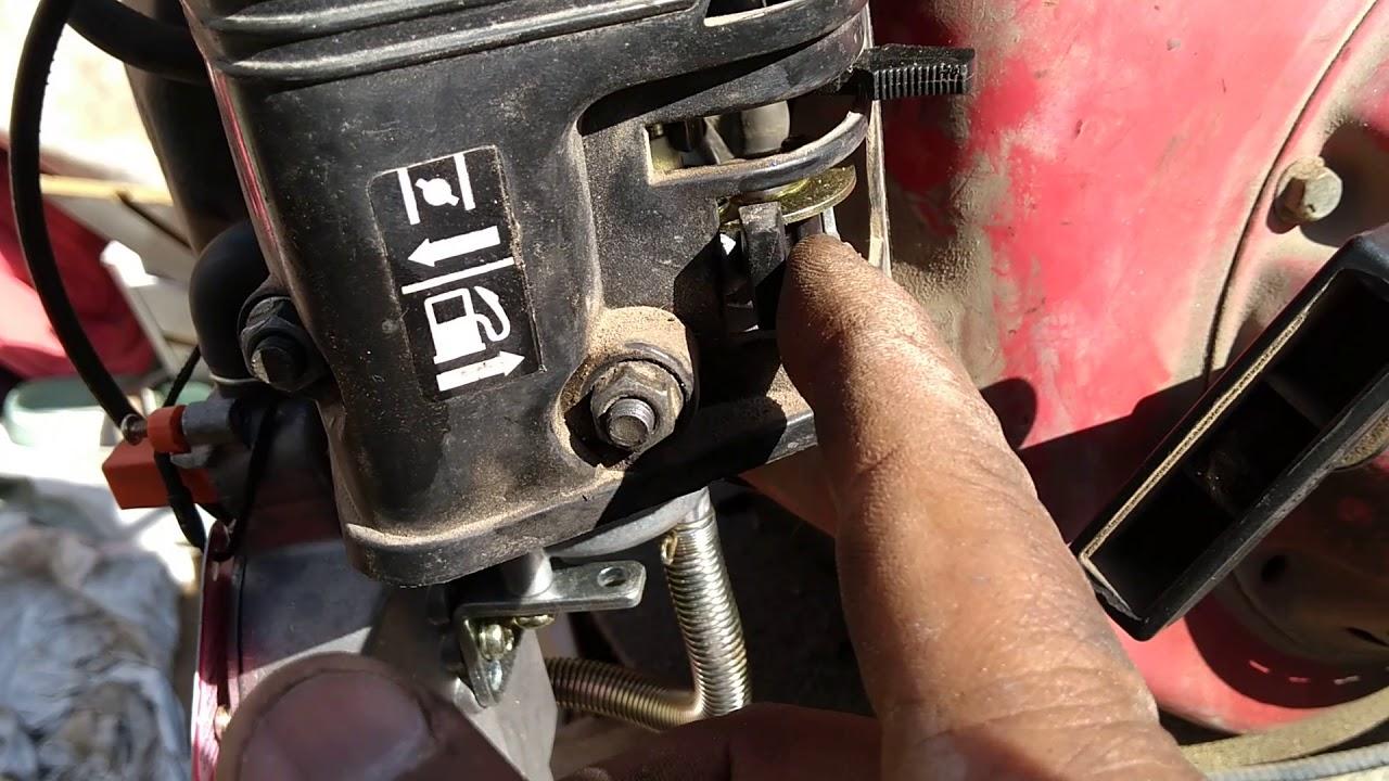 Carburador para gas motores estacionarios