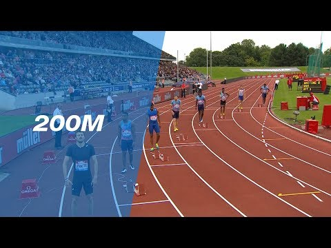 Ramil Guliyev 20.17 wins the Men's 200m - IAAF Diamond League Birmingham 2017