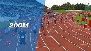 Ramil Guliyev 20.17 wins the Men's 200m - IAAF Diamond League Birmingham 2017