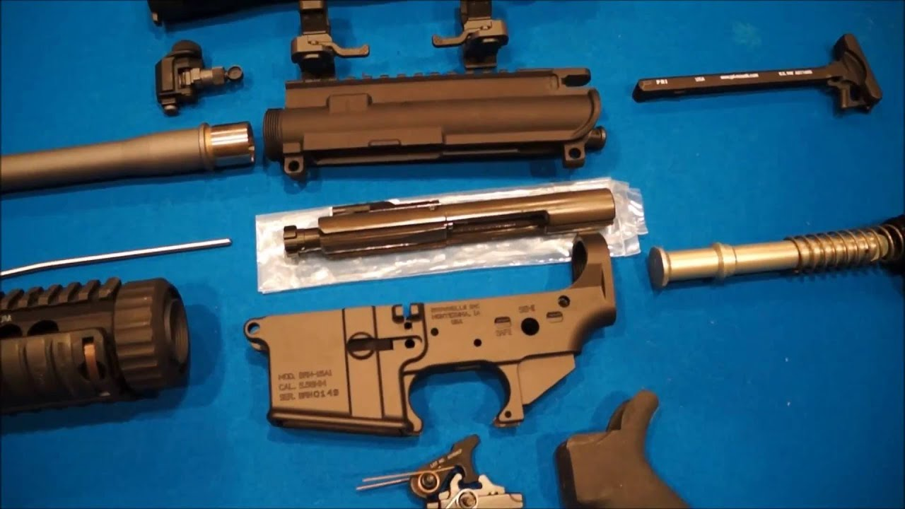 MK12 MOD 1 SPR - The Parts