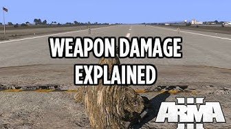 Arma 3 Battle Royale Weapon Damage Explained! 5.56mm 6.5mm 7.62mm