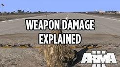 Arma 3 Battle Royale Weapon Damage Explained! 5.56mm 6.5mm 7.62mm