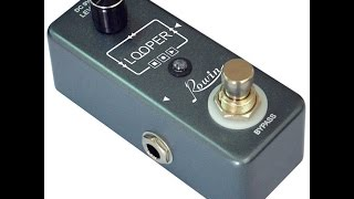 Rowin LEF-332 Looper Pedal Review