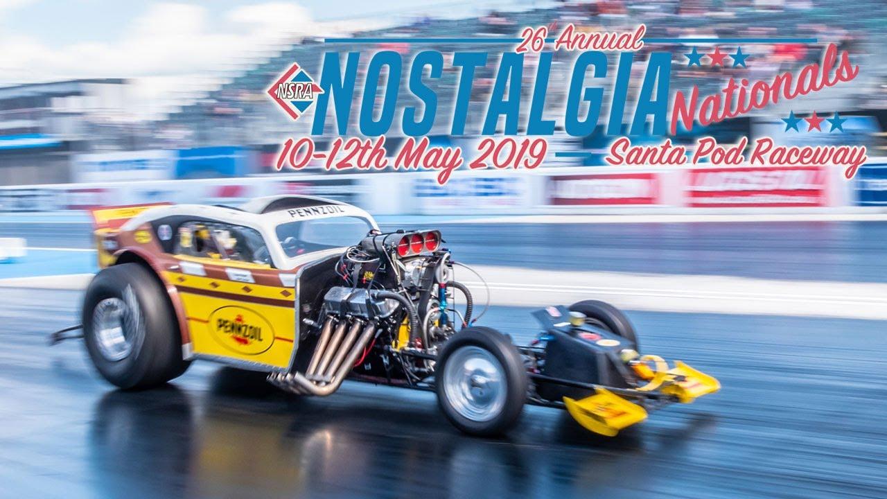 Nostalgia Nationals 2019 - Santa Pod Raceway