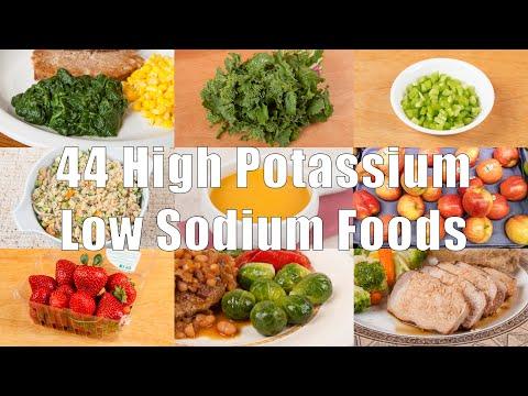 44 High Potassium Low Sodium Foods (700 Calorie Meals) DiTuro Productions
