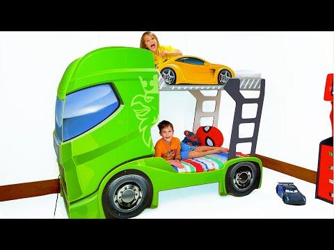 Макс и его Новая кровать грузовик