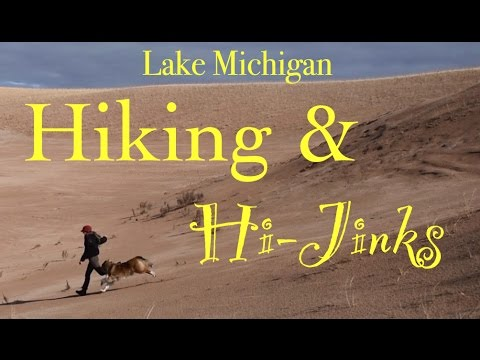 Hiking & Hi-Jinks with My Dog at Lake Michigan