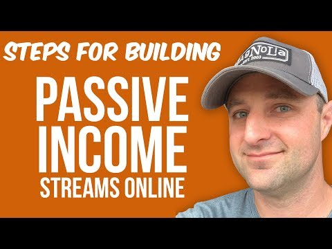 How To Build A Passive Income Stream Online (Step-By-Step)
