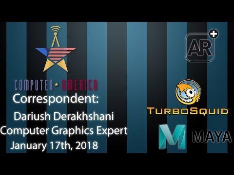 Dariush Derakhshani, Computer Graphics Expert, Talks 3D Modeling and Augment Reality