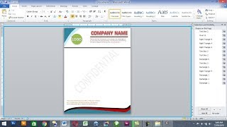 how to make letterhead in ms word Mp3
