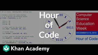 Welcome to our Hour of Code on Khan Academy