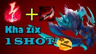 Kha zix critico/lethalidad/runa OP one shot