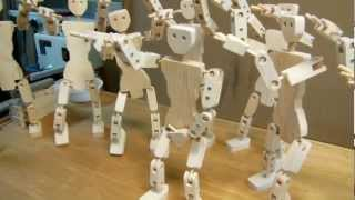 Woodworking: Articulated Ball Joint Robots