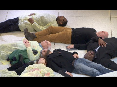 Medicaid Expansion Die-In at the North Carolina General Assembly