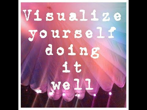 Visualize Yourself Doing it Well