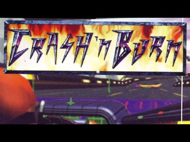 Classic Game Room - CRASH 'N BURN review for Panasonic 3DO