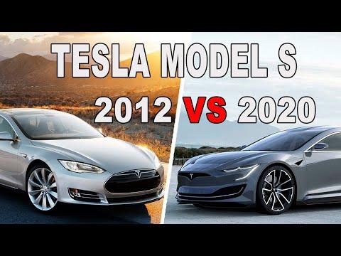 Tesla Model S 2012 Vs 2020! Что изменилось за 8 лет ! Какой будет Tesla Plaid